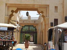 Binnenplaats van het Madinat Jumeirah Complex #NHTV #3MTT