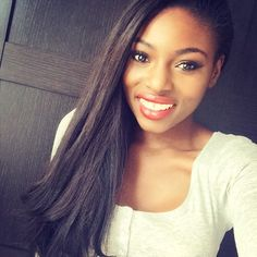 My favorite youtuber Patricia Bright.  Big beautiful bright eyes and a big smile is always on trend!