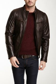 Racer Leather Jacket