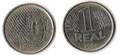 1 real moeda