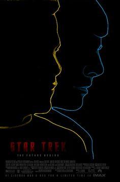 Star Trek (2009) - Minimal Movie Poster by Owain Wilson ~ #minimalmovieposter #alternativemovieposter