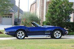 1969 Corvette, Old Corvette, Corvette Summer, Classic Corvette, Chevrolet Corvette, Classic Sports Cars, Classic Cars, Classic Hot Rod, Chevy Muscle Cars