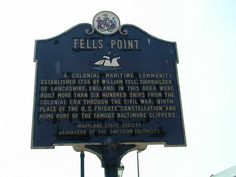 Fells Point, Baltimore City