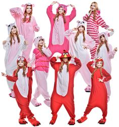 Cartoon Hot Unisex Adult Onesie Kigurumi Pajama Anime Costume Dress Sleepwear #Unbranded #CompleteOutfit