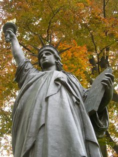 Statue of Liberty @ Jardin du Luxembourg, Paris - Thanks France