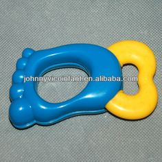 baby teetherwith rattle;  Silicone baby teether provide safe material for baby chewing;  rattle sound attracts baby's attention