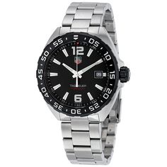 Tag Heuer Formula One Black Dial Stainless Steel Men's Watch WAZ1110BA0875
