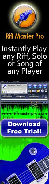In just 27 seconds from now you can have any rock star's riffs slowed way down so you can jam with Page, Clapton, Hendrix, Satriani, Vai, Malmsteen, Stevie Ray Vaughan http://riffmasterpro.com/?hop=joejoekeys