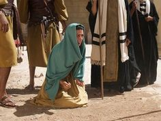 They put her in front of everyone and said to Jesus, 'Teacher, this woman was caught in the act of adultery.' – Slide 4