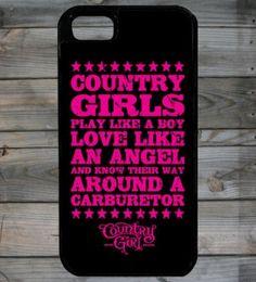 Country Girl ® iPhone 5 Case omg I want this!! It's peeeeeeeeeerfect!! -Mo