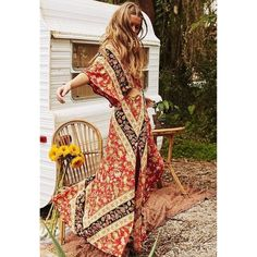 Boho Spirit Floral Dress