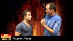 Hunter Hayes talks with Go Country 105 Morning Show Host, Larry Morgan about the adventure of making his sophomore record, Storyline. Listen to the full interview here: http://gocountry105.com/media/audio/?id=468  #HunterHayes #Storyline #GoCountry #CountryMusic