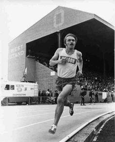 You have to wonder at times what you're doing out there. Over the years, I've given myself a thousand reasons to keep running, but it always comes back to where it started. It comes down to self-satisfaction and a sense of achievement.  Steve Prefontaine    I love Pre.  PRE PRE PRE!
