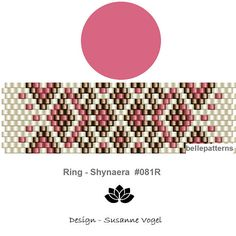 peyote ring patternPDF-Download 081R beading pattern