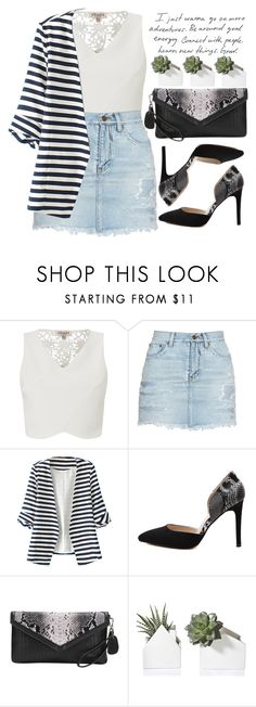 """""""Let's go out!"""" by amilla-top ❤ liked on Polyvore featuring Lipsy, Yves Saint Laurent and WithChic"""