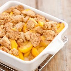 Secrets to Peach Crumble