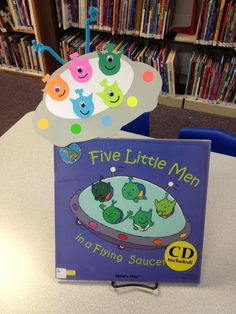 Aliens, outer space, flying saucer, toddler craft