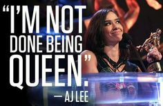 """""""I'm not done being queen."""""""