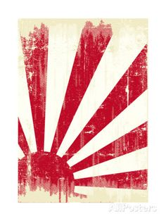 Grunge Japan Flag. An Old Japan Grunge Flag For You Prints by TINTIN75 at AllPosters.com