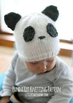 Hermoso gorro panda