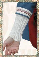 Reconstruction of pleated serk. Historiska Världar - Dräkter - Vikingatida kvinna - Rynksärk