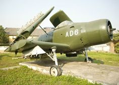 A captured US plane, a devastatingly effective close air support aircraft called a Skyraider. This one became part of the post-war Vietnamese Air Force