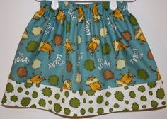 The Lorax  Size 2  7 by bubblenbee on Etsy