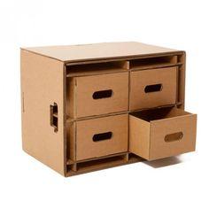 Caixa organizadora com gavetas