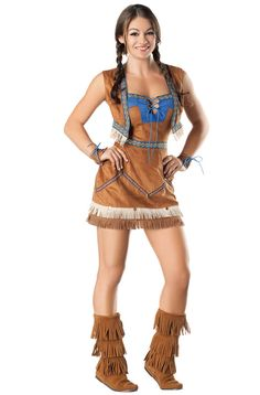 Indian Sweetie Adult Costume