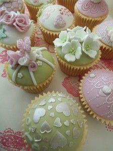 Vintage CupCakes | Môn Cottage Cupcakes