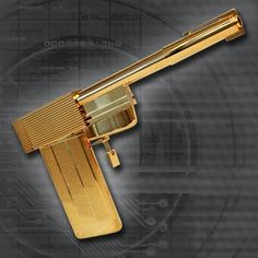 This stunning 1:1 scale prop replica of the #GoldenGun, officially licensed by Danjaq LLC and EON Productions, has been created after meticulous study and research of the original props in the EON archives as well as interviews with original cast and crew. With an all metal machined construction and plated in 18 ct gold, the #replica can be assembled and disassembled into its component parts, exactly as per the original prop. #JamesBond