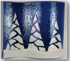 fused glass nativity - Google Search
