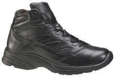 Thorogood Womens Street Athletics Black Leather Boots Mid Cut Liberty *** Click image for more details.