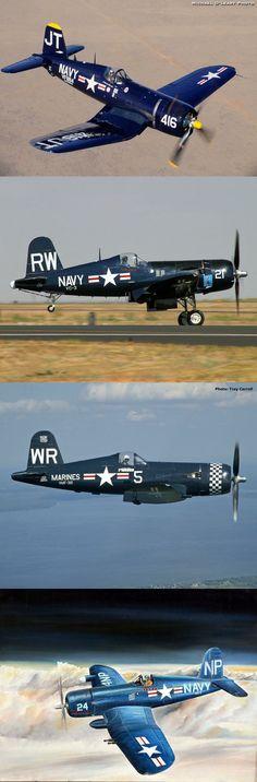 Corsair, my favorite WWII warbird. Ww2 Aircraft, Fighter Aircraft, Military Aircraft, Fighter Jets, F4u Corsair, Nose Art, Tomcat F14, Ww2 Planes, Vintage Airplanes