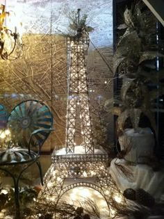 Adds to ToDo list:  (1) Acquire an Eiffel Tower model.  (2) Decorate it with twinkly lights.  (3) Enjoy.