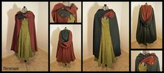 Today I realized I need a cloak, and this one is lovely. Now how to add lots of invisible pockets....  Thyme's Twist Cloak by Durnesque.deviantart.com on @deviantART