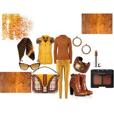 """""""Yellow for Warmth"""" by martha-hill-carter on Polyvore"""