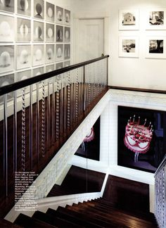 lucite staircase