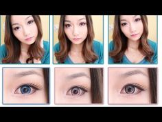 EOS Pink  Blue Circle Lenses Review  Giveaway Pt. 2(kiwiberry1-collection.com)
