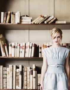 """""""I like books that aren't just lovely but that have memories in themselves. Just like playing a song, picking up a book again that has memories can take you back to another place or another time."""" Emma Watson"""