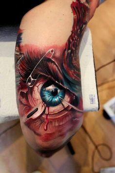 ... #bio-mechanical #tattoo #mechanical