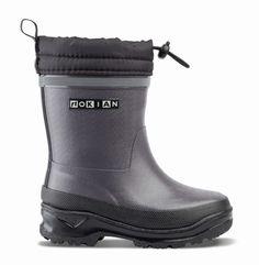 Nokian Gummistiefel Wintry Plus dunkelgrau Footwear, Boots, Fashion, Welly Boots, Children, Crotch Boots, Moda, Shoe, Fashion Styles