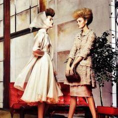 """Eternal Optimism"" : Karlie Kloss, Caroline Trentini, + More : US Vogue March 2012 : Craig McDean"