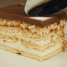 Greek Sweets, Greek Desserts, Greek Recipes, Icebox Cake, Sweets Recipes, Food And Drink, Cookies, Ethnic Recipes, Easy