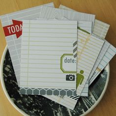 project life card idea