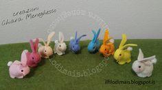 Bunny ester rabbit http://ilfilodimais.blogspot.com/2017/03/pasqua-coniglietti-segnaposto-con.html?m=0