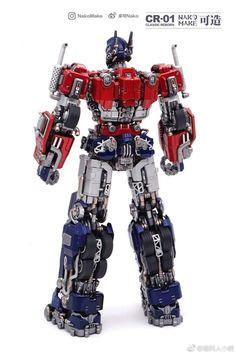 Optimus de costa Arte Alien, Toy Garage, Big Robots, Armored Core, Transformers Collection, Transformers Optimus Prime, Movie Collection, Cyborgs, Animation