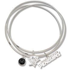 NHL Pittsburgh Penguins Triple Bangle Bracelet by Logo Art, http://www.amazon.com/dp/B002WJNXYM/ref=cm_sw_r_pi_dp_5.Nprb0KSF4N4