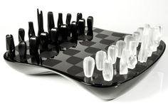 Chess set from Zaha Hadid homeware collection