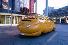 Fat Cars & Other Bizarre Vehicle Sculptures by Erwin Wurm | Inspiration Grid | Design Inspiration